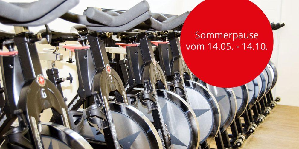 Schwinn Cycling Sommerpause